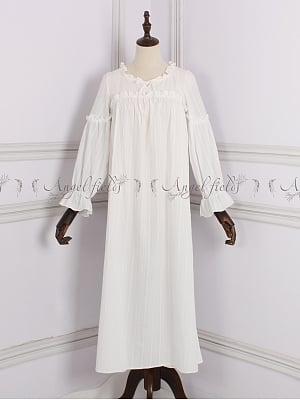 Princess Cotton Vintage Pajama Nightgown by Angel fields