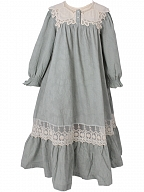 Princess Round Neckline Vintage Pajama Dress by Angel fields