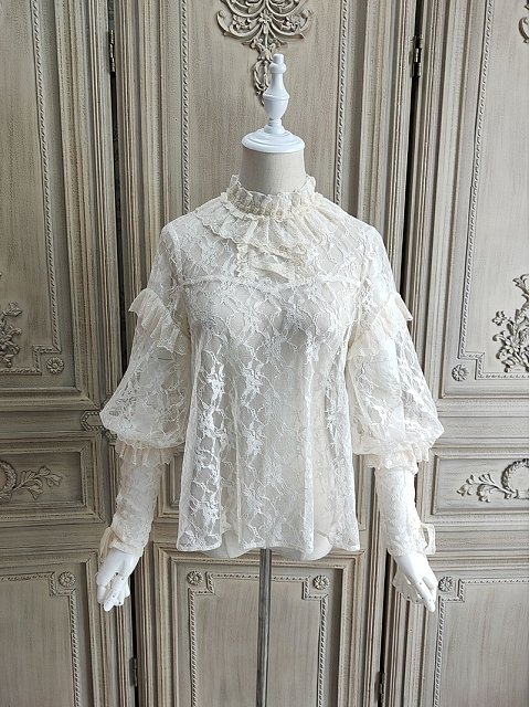 When Camellia Blooms Blouse by Alice Girl
