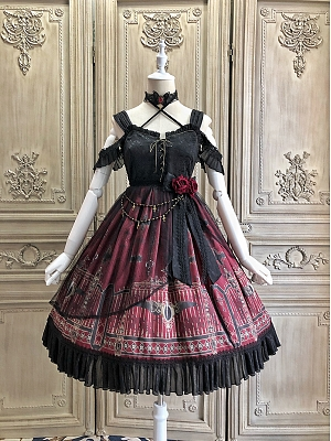 Night Gate Gothic Lolita JSK by Alice Girl