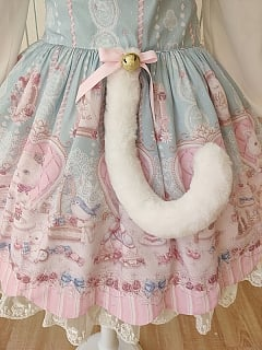 Cats Tea Party Cute Tail by Alice Girl