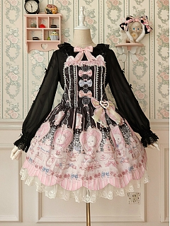 Cats Tea Party JSK by Alice Girl