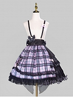 Spade A Little Devil Idol Lolita Skirt by Alice Girl