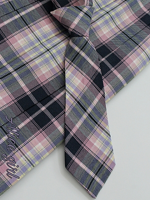Heart Q Plaid Bowtie and Tie by Alice Girl