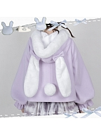 Gummy Bunny Winter Hooded Coat by Alice Girl