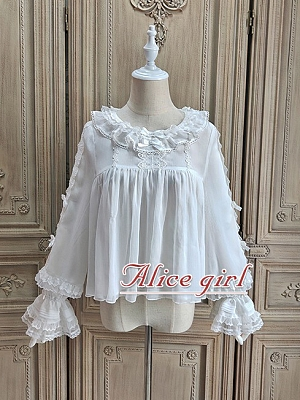 Sweet Alice Series Lolita Dress Matching Blouse by Alice Girl