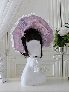 Sweet Alice Series Matching Bonnet by Alice Girl
