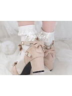 Cut Out Round Toe Heels by Aggiland
