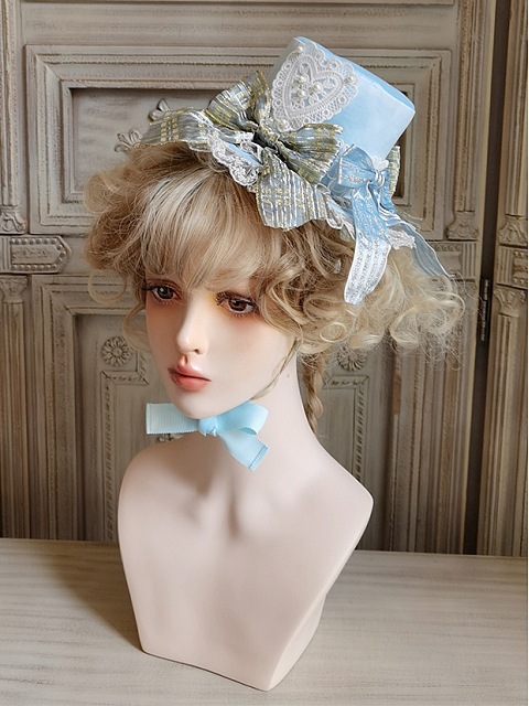 Guard & Starlight OP Matching Hat/Wristcuffs/Tulle overlay Lolita by Angels Heart