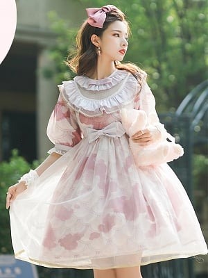 Little Koi Series Sweet Lolita Dress OP by Angels Heart