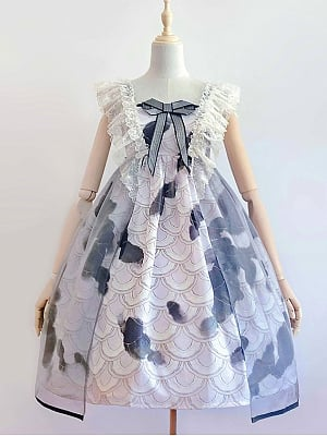 Little Koi Series Sweet Lolita Dress JSK I by Angels Heart