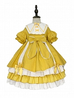 Sweet Sunny Skies Lolita Dress OP for Kids by Andot's Key