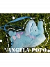 Pre-order Small Sleep Cloud Small Elephant Satchel Plush Purse Bag by Angela PoPo