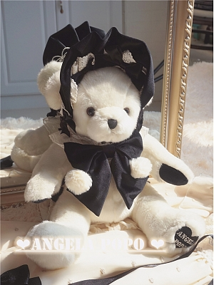 Andy Bear with Bonnet Bag by Angela PoPo