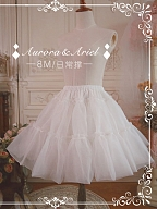 Custom Size Available Daily Puffy Organdy Petticoat by Aurora Ariel