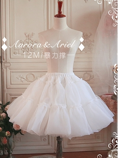 Custom Size Available Puffy Organdy Petticoat by Aurora and Ariel