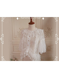 Feather Pure Lace Blouse By Aurora Ariel