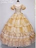 Belle's Golden Prom Dress by Alois Wang
