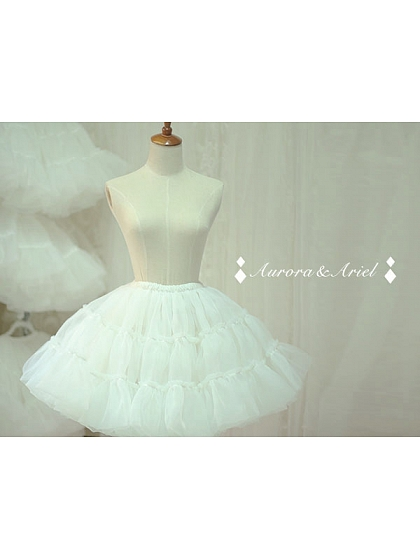 Super Puffy Organdy A-line Petticoat