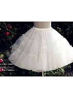 Puffy Organdy Petticoat by Aurora and Ariel