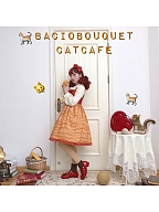 Cat Printed JSK by Bacio Bouquet