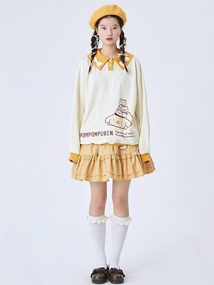 Sanrio Authorized Polo Sweatshirt by Bacio Bouquet