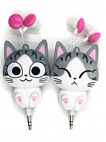 Kawaii Kitty Earbuds