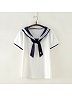 Sailor Collar Tee by June's Seaweed