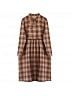 Mori Girl Fake Two Piece Plaid Dress by Mucha