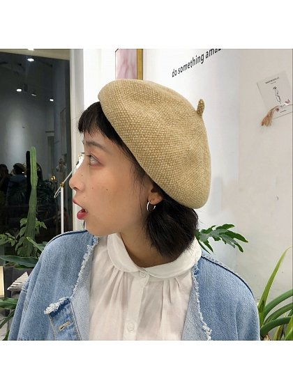 Sweet Colour Mixture Beret by Uncleyao