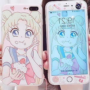 Sailor Moon Usagi is Eating Food Phone Case