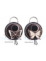 Butterfly Round Handbag by MuFish
