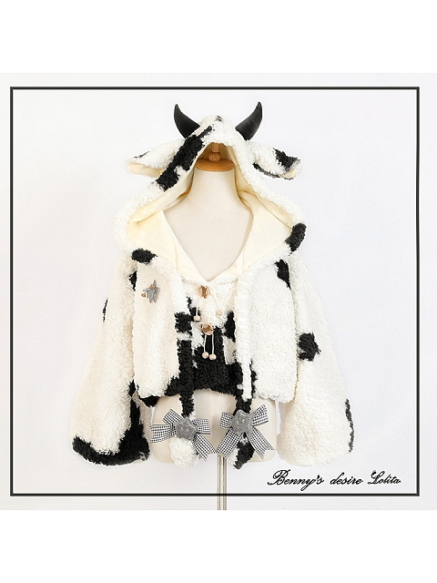 Movable Ears Speckled Coat by Benny Desire Lolita