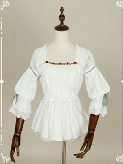 Alpine Maiden Blouse by Beaver Duke.