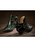 Middle Age Detachable Fur Shaft Shoes by Baroque's Mask