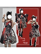Wolf Wa Lolita JSK by Bunny and Apsara