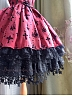 Single Layer Paillette Black Star Hemline Petticoat Daily Version by Boguta