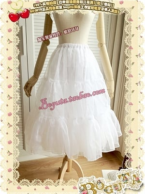 Double-layers 70 cm Long Version Petticoat by Boguta