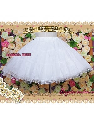 Four-layers Short Version Petticoat by Boguta