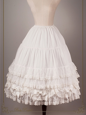 The Tears of Heaven Flower Wedding Petticoat by Ponytail