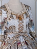 Pre-order Custom Size Available Lace-Trimmed Shoulder Yoke OP-NIght at the Circus by Baby Ponytail