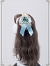 Pre-order Night at the Circus Flower Faux Pearls Decorated Hairband by Baby Ponytail