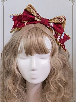 Night at the Circus Side Bowknot KC by Baby Ponytail
