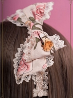 Pre-order Floral Side Bowknot KC-Lady's Garden Dreamland by Baby Ponytail