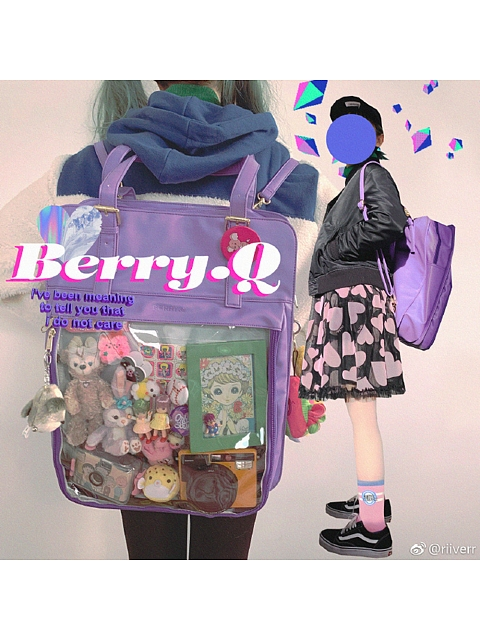 Long Version Two-ways Itabag by Berry Q