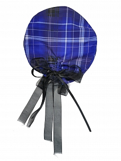 Witch Apocalypse Plaid Beret by Blood Supply