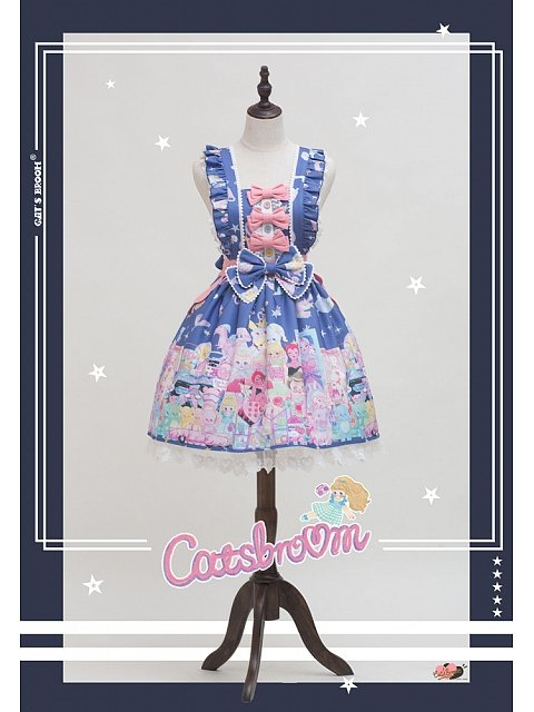 Dolls Wall Strap Dress by CatsBroom