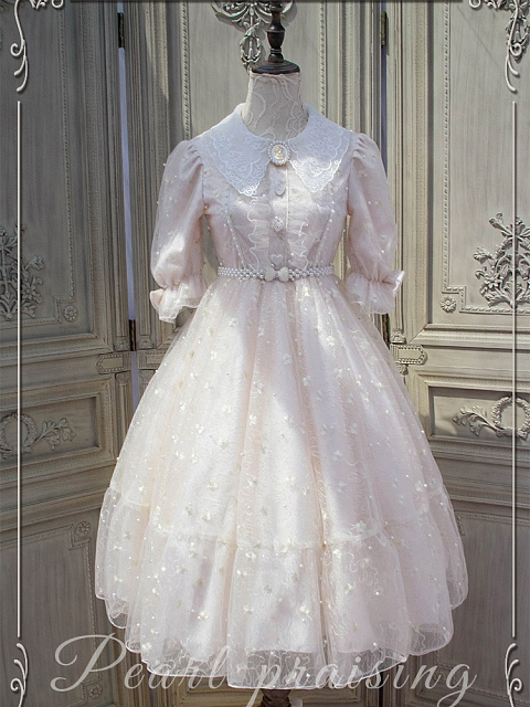 Elegant Vintage Dress Sweet Lolita OP by Canacard