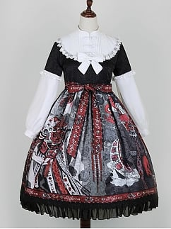 Halloween Witch Elegant Gothic Lolita Dress OP by Cat Highness