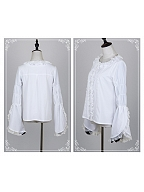 Basic Virago Sleeves Lolita Shirt by Cat Highness